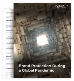 Brand Protection During Pandemic eBook Cover