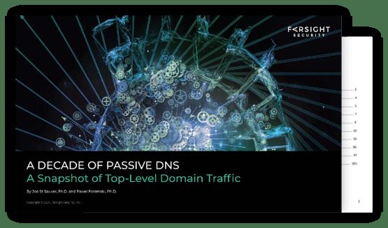 Decade of Passive DNS Cover-2