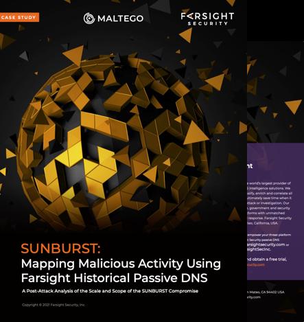 Sunburst case study